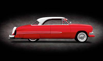 Photograph - 1951 Ford Victoria Crestline Hardtop  -  1951fordvictoriacrestlinehdtpsptext140006 by Frank J Benz
