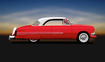 Photograph - 1951 Ford Victoria Crestline Hardtop  -  1951fordvictoriahardtop140006 by Frank J Benz