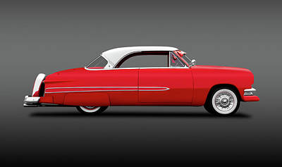 Photograph - 1951 Ford Victoria Crestline Hardtop  -  1951fordvictoriahdtpfa140006 by Frank J Benz
