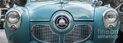 Photograph - 1951 Studebaker Commander Grille by Tony Baca