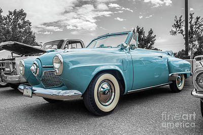 Photograph - 1951 Studebaker Commander by Tony Baca