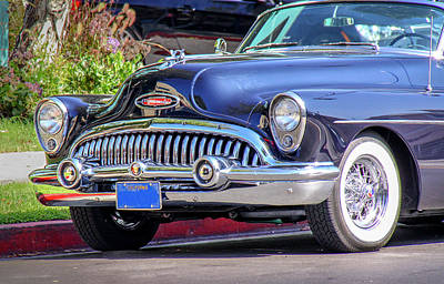 1953 Buick Skylark - Chrome And Grill Art Print