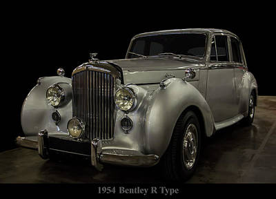Photograph - 1954 Bentley R Type by Chris Flees