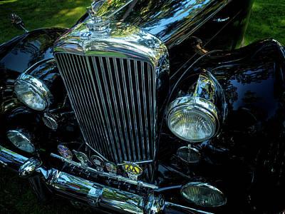 Photograph - 1954 Bentley Saloon by Thomas Hall