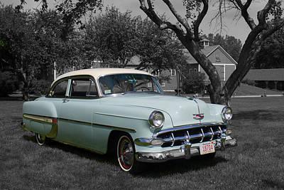 Wall Art - Photograph - 1954 Chevrolet by Rik Carlson