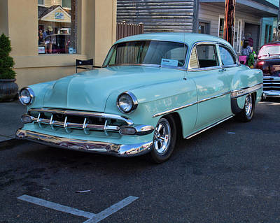 Photograph - 1954 Chevy by HW Kateley