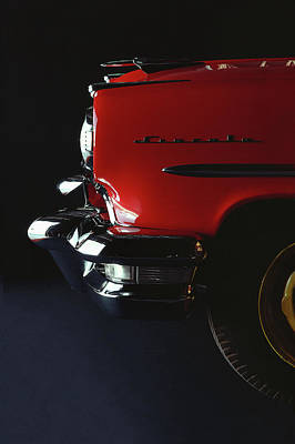 Photograph - 1954 Lincoln Capri Custom Coupe by Car Culture
