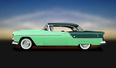 Photograph - 1954 Oldsmobile Super 88 Holiday Hardtop  -  1954oldsmobileholiday88hdtpgr186151 by Frank J Benz