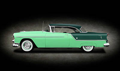 Photograph - 1954 Oldsmobile Super 88 Holiday Hardtop  -  54olds88holidayhdtpgrspottext186151 by Frank J Benz