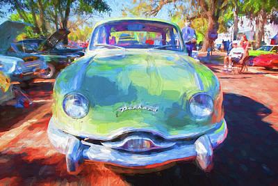 Photograph - 1954 Panard Dyna Z 002 by Rich Franco