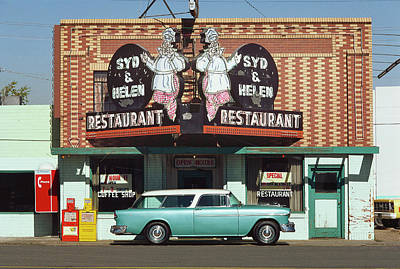 Photograph - 1955 Chevrolet Bel Air Nomad by Car Culture