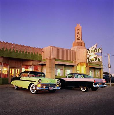 Photograph - 1955 Ford Fairlane Crown Victoria & by Car Culture