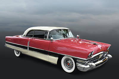 Photograph - 1955 Packard 400 by Bill Dutting