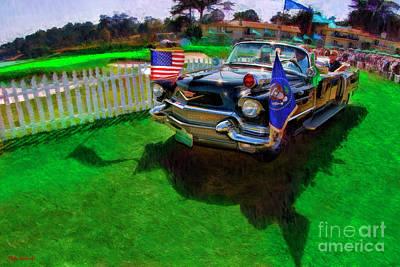 Photograph - 1956 Cadillac Presidential Parade Car by Blake Richards