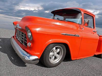 Photograph - 1956 Chevrolet 3100 Truck by Gill Billington
