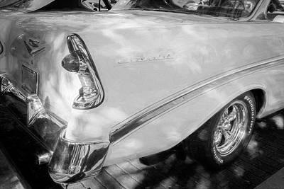 Photograph - 1956 Chevrolet Bel Air 2 Door 10a by Rich Franco