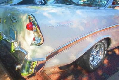 Photograph - 1956 Chevrolet Bel Air 2 Door 12a by Rich Franco