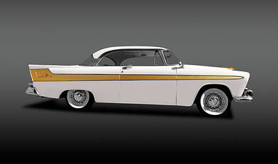 Photograph - 1956 Hemi-powered Plymouth Fury  -  1956plymouthfury2drhardtopfa149883 by Frank J Benz