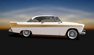 Photograph - 1956 Hemi-powered Plymouth Fury  -  1956plymouthfuryhemihardtop149883 by Frank J Benz