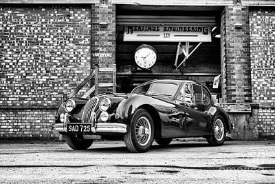 Photograph - 1956 Jaguar Xk  by Tim Gainey