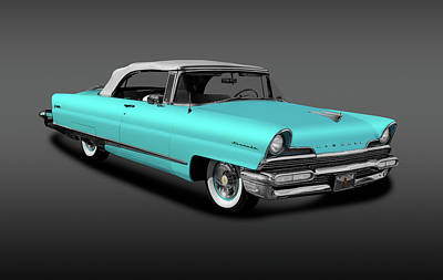 Photograph - 1956 Lincoln Premiere Convertible Sedan  -  Convertible1956lincolnfa140796 by Frank J Benz