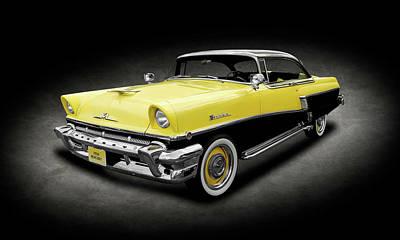 Photograph - 1956 Mercury Montclair   -   1956mercmontclair2drhdtptexture166898 by Frank J Benz