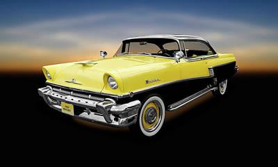 Photograph - 1956 Mercury Montclair  -  1956mercurymontclair2drhdtp166898 by Frank J Benz