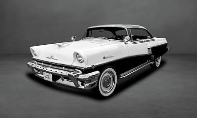 Photograph - 1956 Mercury Montclair 2-door Hardtop  -  56mercbw55 by Frank J Benz