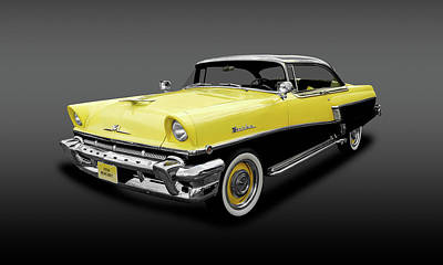 Photograph - 1956 Mercury Montclair   -   1956mercmontclairhdtpgray166898 by Frank J Benz