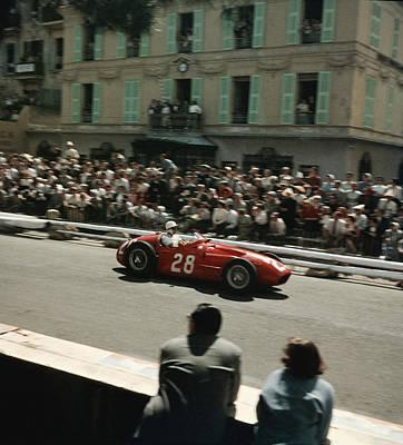 Photograph - 1956 Monaco Grand Prix by Thomas D. Mcavoy