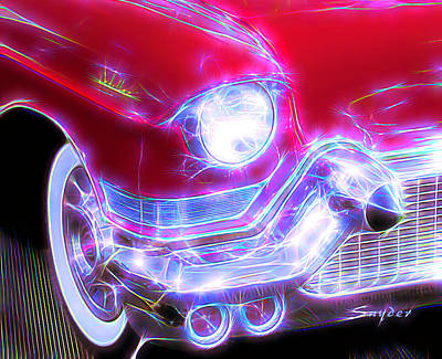Photograph - 1957 Cadillac by Floyd Snyder