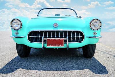 Anchor Down - 1957 Corvette Convertible by Alexey Stiop