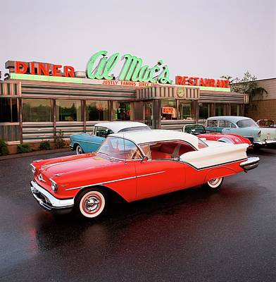 Hubcap Wall Art - Photograph - 1957 Oldsmobile Super 88 Holiday Coupe by Car Culture