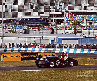 Truck Art - 1957 Triumph Tr3 17rolex085 by Howard Stapleton
