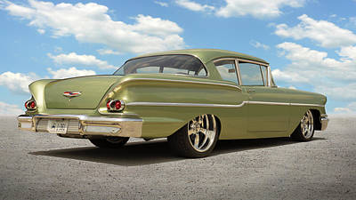 Photograph - 1958 Chevy Delray by Mike McGlothlen