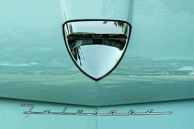 Wine Glass - 1958 Ford Fairlane by Scott Norris