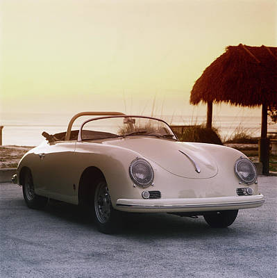 Sports Photograph - 1958 Porsche 365a Carrera Gt Speedster by Car Culture
