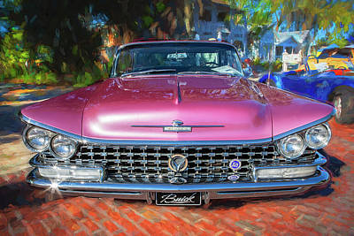 Photograph - 1959 Buick Electra 225 014 by Rich Franco