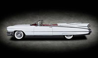 Photograph - 1959 Cadillac Eldorado Biarritz Convertible  -  1959cadillaceldoracobiarritzcvtexture171882 by Frank J Benz