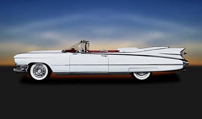 Photograph - 1959 Cadillac Eldorado Biarritz Convertible   -  1959cadillaceldoradoconvertible171882 by Frank J Benz