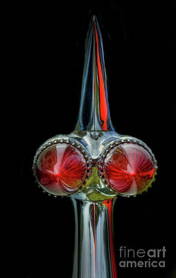 Photograph - 1959 Cadillac Taillights by Tony Baca