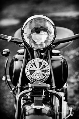 Photograph - 1959 Indian Chief Motorcycle by Tim Gainey