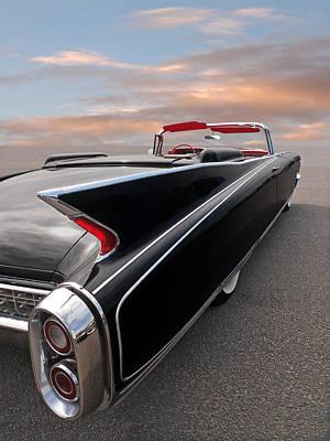 Photograph - 1960 Cadillac Eldorado Biarritz Tail Fin by Gill Billington