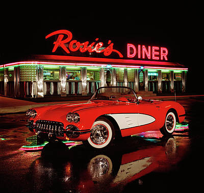 Photograph - 1960 Chevrolet Corvette Convertible by Car Culture