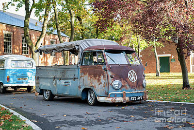 Photograph - 1960 Vw Pickup by Tim Gainey