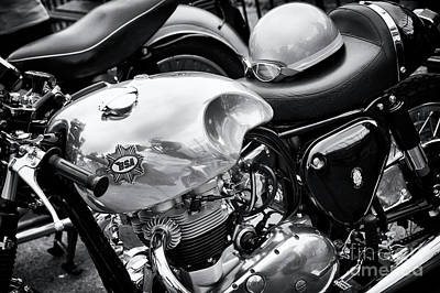 Photograph - 1961 Bsa  A10 Super Rocket Cafe Racer by Tim Gainey