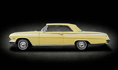 Photograph - 1962 Chevrolet Impala Super Sport 2 Door Hardtop  -  1962chevroletimpalahdtptexture172073 by Frank J Benz