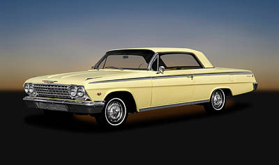 Photograph - 1962 Chevrolet Impala Super Sport 2 Door Hardtop  -  1962chevyimpalasupersporthdtp172070 by Frank J Benz