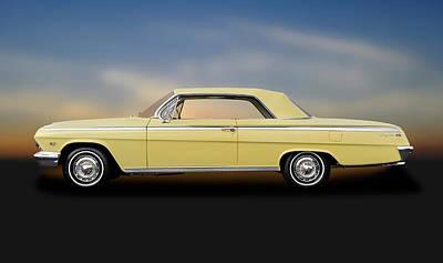 Photograph - 1962 Chevrolet Impala Super Sport 2 Door Hardtop  -  1962chevyimpalasupersporthdtp172073 by Frank J Benz