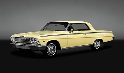 Photograph - 1962 Chevrolet Impala Super Sport 2 Door Hardtop  -  1962supersportimpalahdtpgray172070 by Frank J Benz